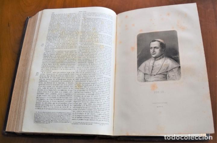 Libros antiguos: HISTORIA UNIVERSAL - CÉSAR CANTÚ - 1854 A 1859 - 10 TOMOS COMPLETA - MADRID, GASPAR Y ROIG EDITORES - Foto 54 - 257655180