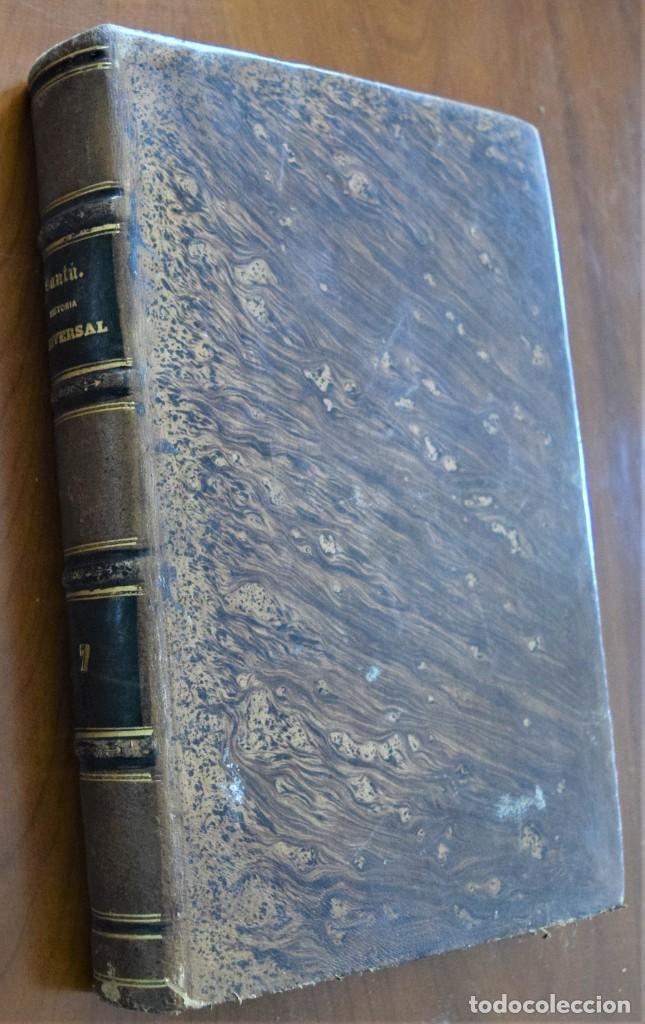 Libros antiguos: HISTORIA UNIVERSAL - CÉSAR CANTÚ - 1854 A 1859 - 10 TOMOS COMPLETA - MADRID, GASPAR Y ROIG EDITORES - Foto 55 - 257655180