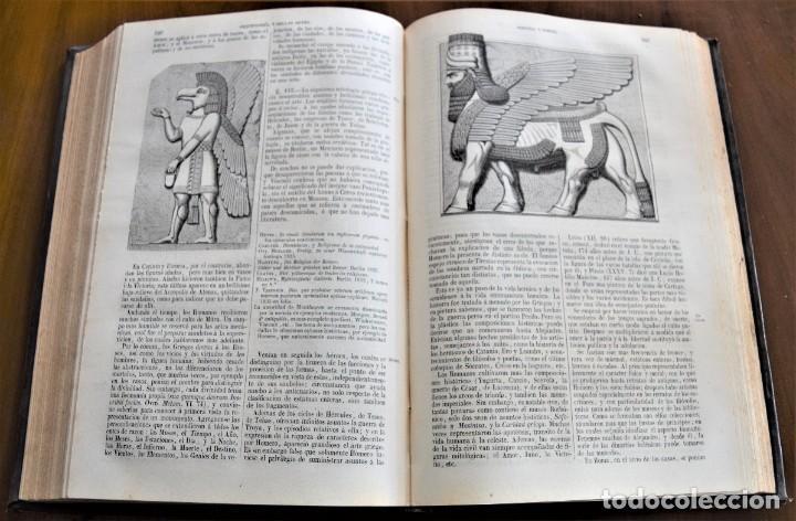 Libros antiguos: HISTORIA UNIVERSAL - CÉSAR CANTÚ - 1854 A 1859 - 10 TOMOS COMPLETA - MADRID, GASPAR Y ROIG EDITORES - Foto 62 - 257655180