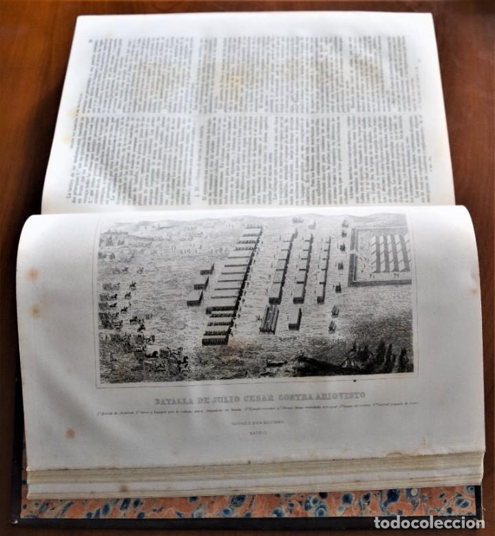 Libros antiguos: HISTORIA UNIVERSAL - CÉSAR CANTÚ - 1854 A 1859 - 10 TOMOS COMPLETA - MADRID, GASPAR Y ROIG EDITORES - Foto 68 - 257655180