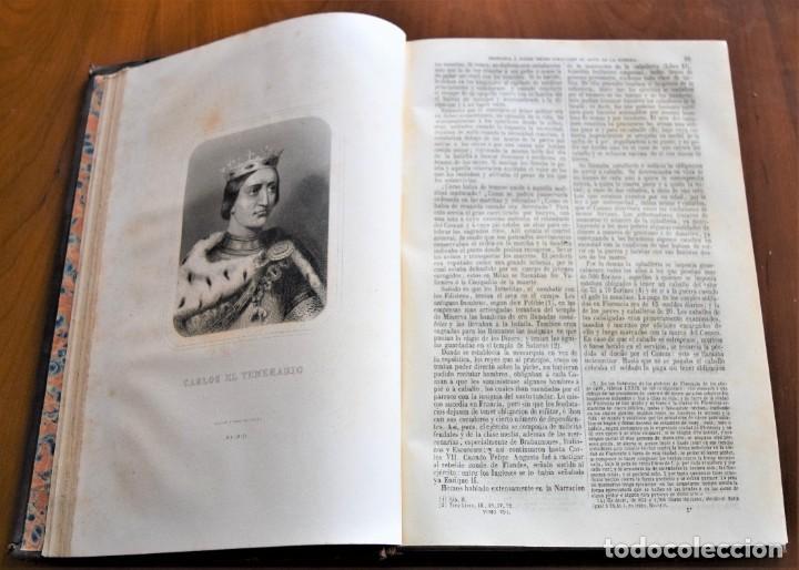 Libros antiguos: HISTORIA UNIVERSAL - CÉSAR CANTÚ - 1854 A 1859 - 10 TOMOS COMPLETA - MADRID, GASPAR Y ROIG EDITORES - Foto 69 - 257655180