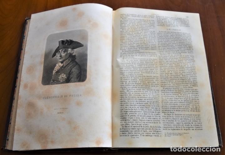 Libros antiguos: HISTORIA UNIVERSAL - CÉSAR CANTÚ - 1854 A 1859 - 10 TOMOS COMPLETA - MADRID, GASPAR Y ROIG EDITORES - Foto 70 - 257655180