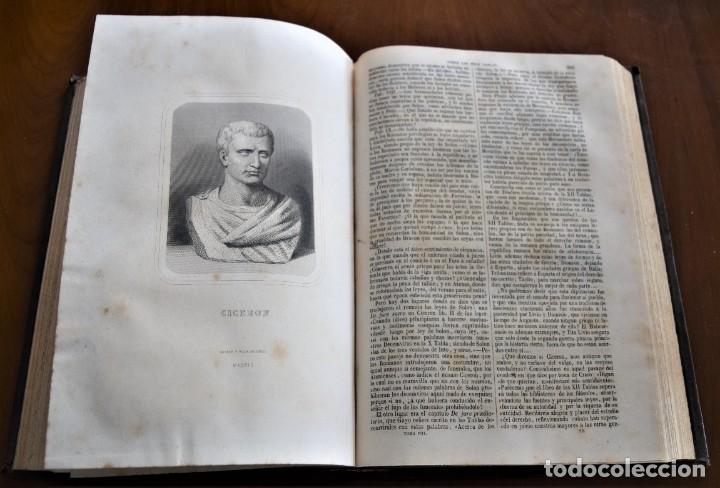 Libros antiguos: HISTORIA UNIVERSAL - CÉSAR CANTÚ - 1854 A 1859 - 10 TOMOS COMPLETA - MADRID, GASPAR Y ROIG EDITORES - Foto 71 - 257655180