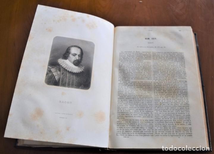 Libros antiguos: HISTORIA UNIVERSAL - CÉSAR CANTÚ - 1854 A 1859 - 10 TOMOS COMPLETA - MADRID, GASPAR Y ROIG EDITORES - Foto 76 - 257655180