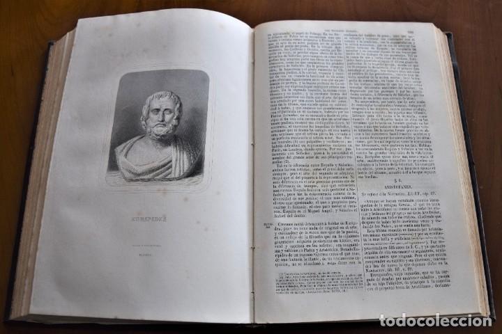 Libros antiguos: HISTORIA UNIVERSAL - CÉSAR CANTÚ - 1854 A 1859 - 10 TOMOS COMPLETA - MADRID, GASPAR Y ROIG EDITORES - Foto 77 - 257655180