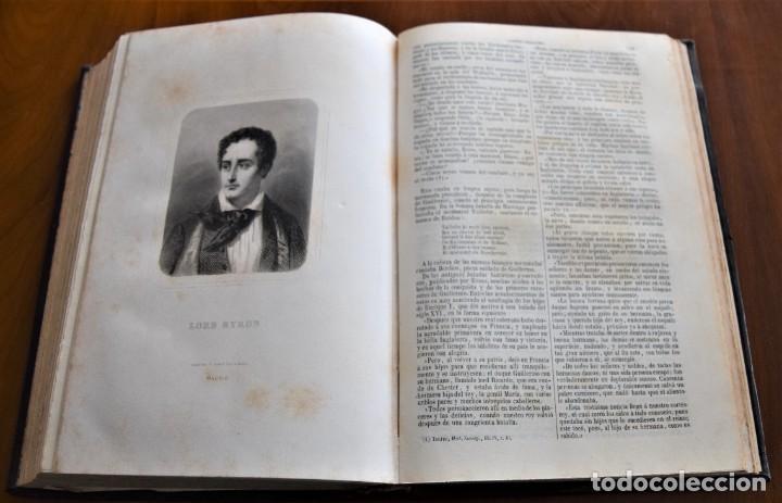 Libros antiguos: HISTORIA UNIVERSAL - CÉSAR CANTÚ - 1854 A 1859 - 10 TOMOS COMPLETA - MADRID, GASPAR Y ROIG EDITORES - Foto 79 - 257655180