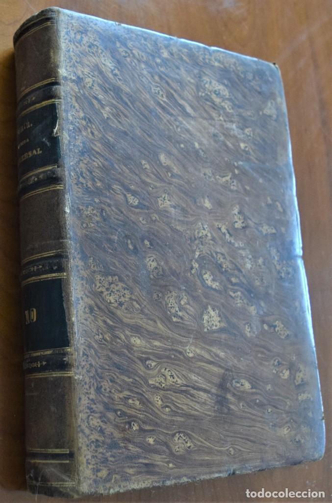 Libros antiguos: HISTORIA UNIVERSAL - CÉSAR CANTÚ - 1854 A 1859 - 10 TOMOS COMPLETA - MADRID, GASPAR Y ROIG EDITORES - Foto 80 - 257655180