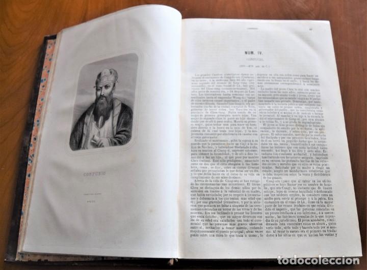 Libros antiguos: HISTORIA UNIVERSAL - CÉSAR CANTÚ - 1854 A 1859 - 10 TOMOS COMPLETA - MADRID, GASPAR Y ROIG EDITORES - Foto 83 - 257655180