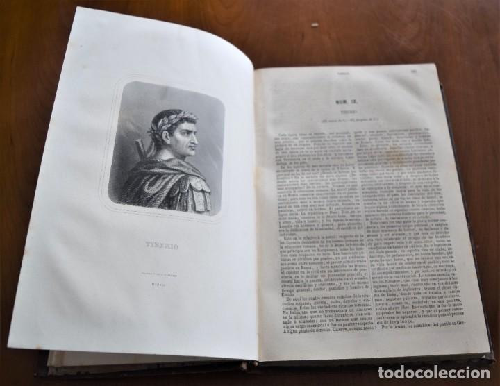 Libros antiguos: HISTORIA UNIVERSAL - CÉSAR CANTÚ - 1854 A 1859 - 10 TOMOS COMPLETA - MADRID, GASPAR Y ROIG EDITORES - Foto 84 - 257655180