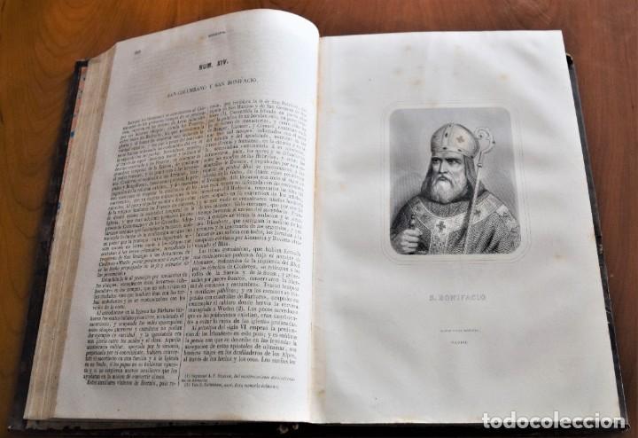 Libros antiguos: HISTORIA UNIVERSAL - CÉSAR CANTÚ - 1854 A 1859 - 10 TOMOS COMPLETA - MADRID, GASPAR Y ROIG EDITORES - Foto 85 - 257655180