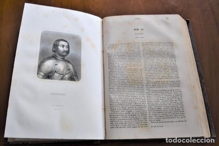 Libros antiguos: HISTORIA UNIVERSAL - CÉSAR CANTÚ - 1854 A 1859 - 10 TOMOS COMPLETA - MADRID, GASPAR Y ROIG EDITORES - Foto 86 - 257655180