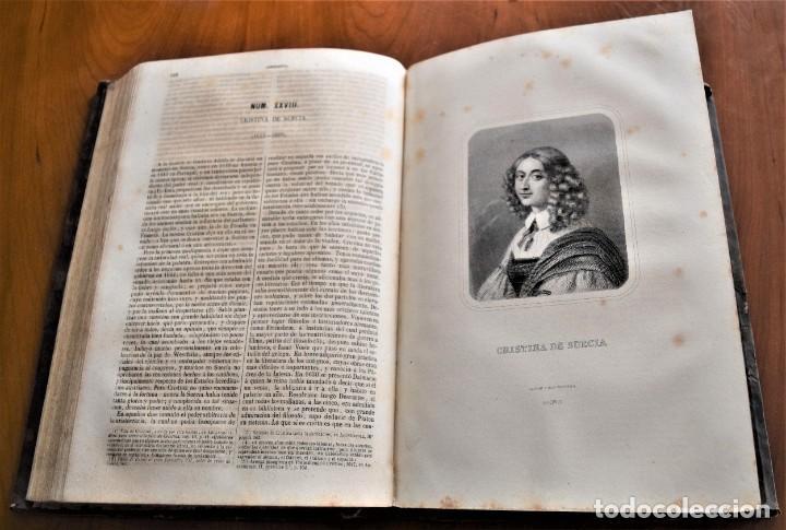 Libros antiguos: HISTORIA UNIVERSAL - CÉSAR CANTÚ - 1854 A 1859 - 10 TOMOS COMPLETA - MADRID, GASPAR Y ROIG EDITORES - Foto 88 - 257655180