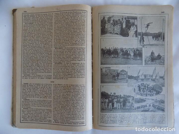 Libros antiguos: LIBRERIA GHOTICA. ALMANAQUE BAILLY-BAILLIERE.1919.PEQUEÑA ENCICLOPEDIA DE LA VIDA PRÁCTICA.ILUSTRADO - Foto 5 - 257722500