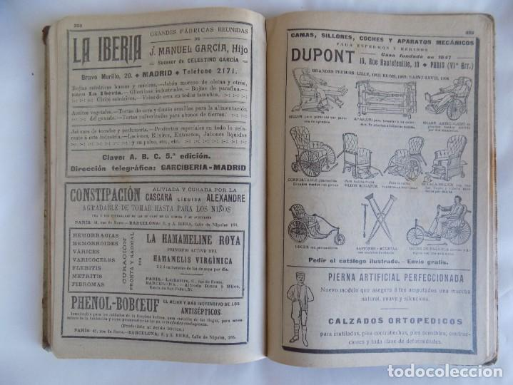 Libros antiguos: LIBRERIA GHOTICA. ALMANAQUE BAILLY-BAILLIERE.1919.PEQUEÑA ENCICLOPEDIA DE LA VIDA PRÁCTICA.ILUSTRADO - Foto 6 - 257722500