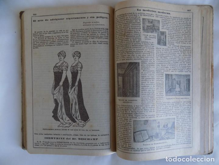 Libros antiguos: LIBRERIA GHOTICA. ALMANAQUE BAILLY-BAILLIERE.1919.PEQUEÑA ENCICLOPEDIA DE LA VIDA PRÁCTICA.ILUSTRADO - Foto 7 - 257722500