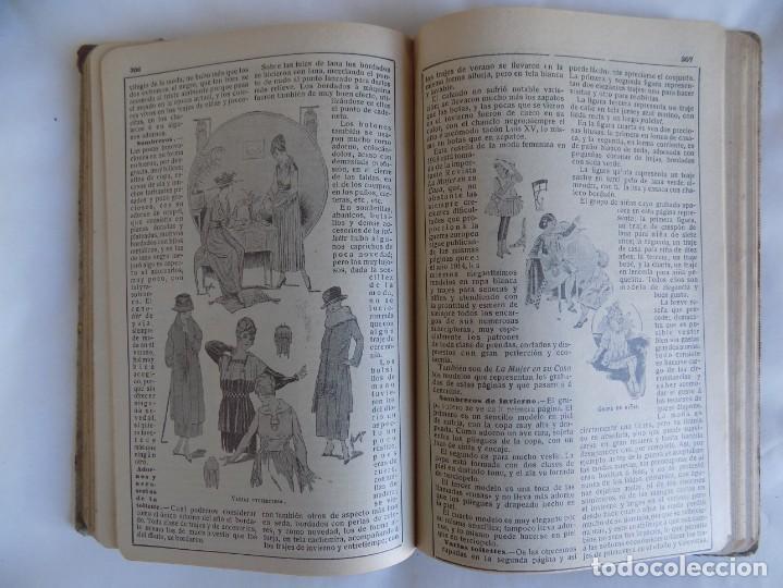 Libros antiguos: LIBRERIA GHOTICA. ALMANAQUE BAILLY-BAILLIERE.1919.PEQUEÑA ENCICLOPEDIA DE LA VIDA PRÁCTICA.ILUSTRADO - Foto 8 - 257722500