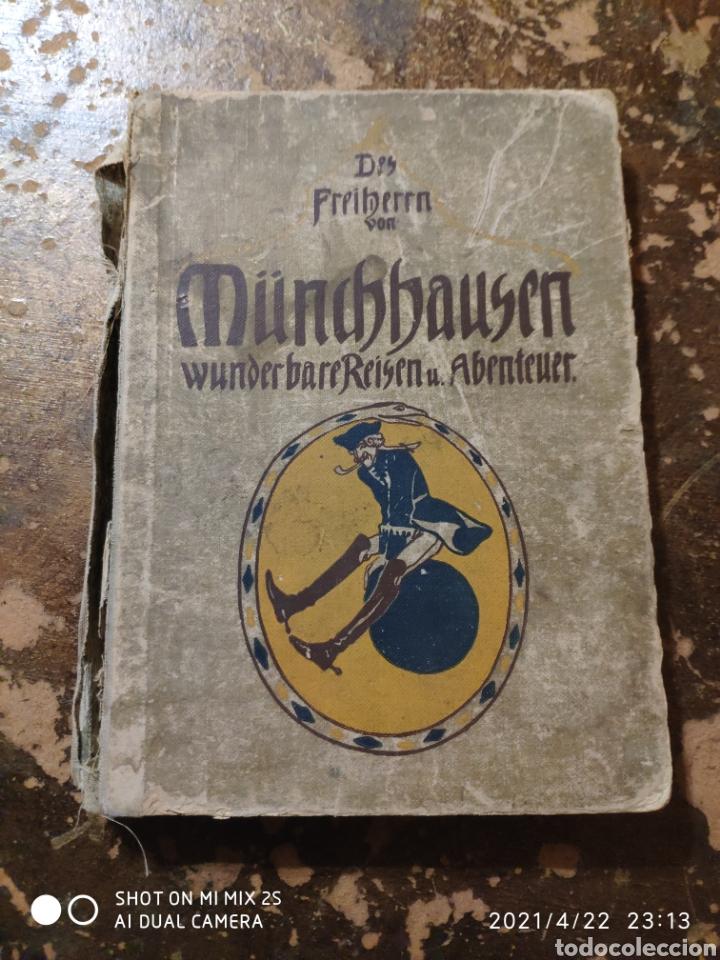 WUNDERBARE REISEN UND ABENTEUER (DES FREIHERRN VON MÜNCHHAUSEN) (Libros Antiguos, Raros y Curiosos - Otros Idiomas)