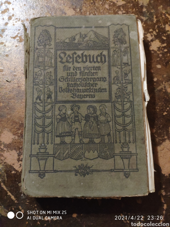 LESEBUCH FÜR DEN 4. UND 5. SCHÜLERJAHRGANG KATHOLISCHER VOLKSHAUPTSCHULEN BAYERNS (1928) (Libros Antiguos, Raros y Curiosos - Otros Idiomas)