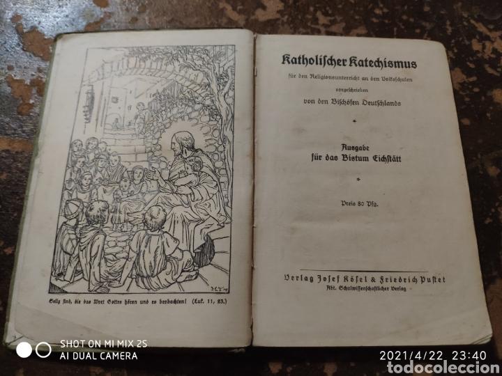 Libros antiguos: KATHOLISCHER KATECHISMUS (BISTUM EICHSTÄTT) - Foto 2 - 257737450