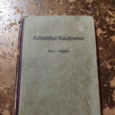 Libros antiguos: KATHOLISCHER KATECHISMUS (BISTUM EICHSTÄTT). Lote 257737450