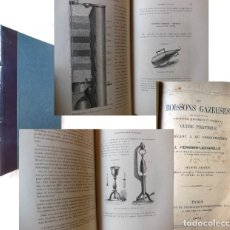 Libros antiguos: BOISSONS GAZEUSES (GUIDE PRACTIQUE DU FABRICANT & DU CONSOMMATEUR) 1874 J.HERMANN-LACHAPELLE. Lote 258024170