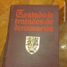 Libros antiguos: TRATADOS DE TRATADOS DE DECLAMACIÓN. Lote 258935930