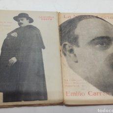 Libros antiguos: LOTE DE 12 NOVELAS DE EMILIO CARRERE, (NOVELA CORTA, EL LIBRO POPULAR, LOS CONTEMPORANEOS).. Lote 258994380