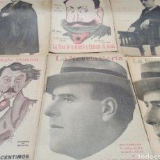 Libros antiguos: LOTE DE 10 NOVELAS CORTAS DE PEDRO DE REPIDE, VER FOTOS CON TITULOS. Lote 259238690