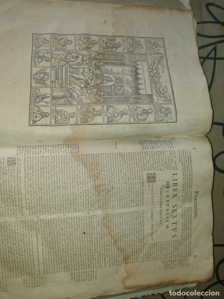 Libros antiguos: Liber sextus Decretalium D. Bonifacij Papae VIII -1613 - Foto 14 - 91026505