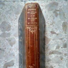 Libros antiguos: DAPHNIS ET CHLOÉ - LONGUS - 1903 + PAUL ET VIRGINIE - B. DE SAINT-PIERRE - 1905 - MEDIA PIEL. Lote 259853435