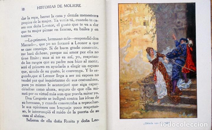 Libros antiguos: Colección Araluce. Historias de Moliere y mas historias de Shakespeare.1914 y 1956 - Foto 3 - 259901455
