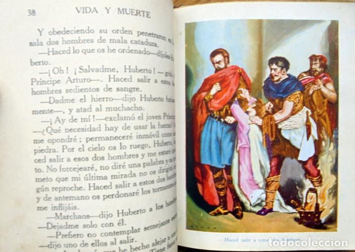 Libros antiguos: Colección Araluce. Historias de Moliere y mas historias de Shakespeare.1914 y 1956 - Foto 6 - 259901455