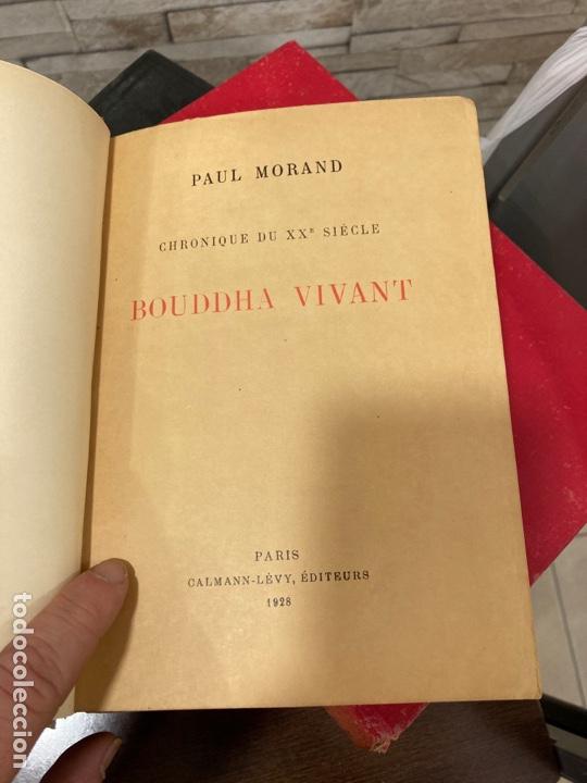 Libros antiguos: Libro bouddha vivant, en francés - Foto 3 - 259999170