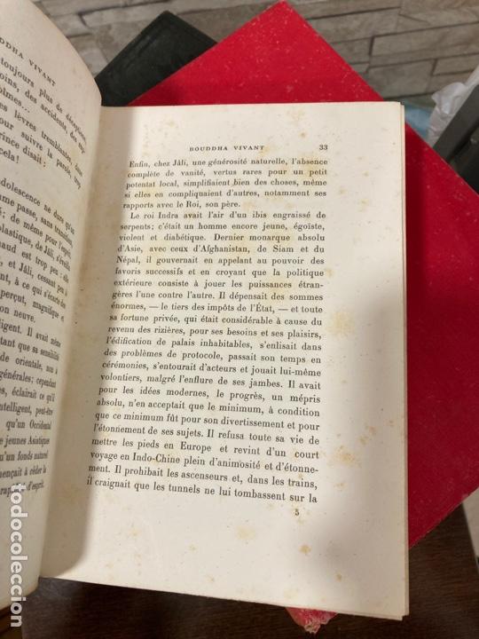 Libros antiguos: Libro bouddha vivant, en francés - Foto 5 - 259999170