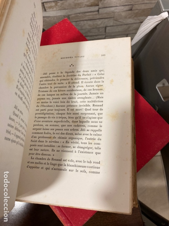 Libros antiguos: Libro bouddha vivant, en francés - Foto 6 - 259999170