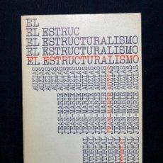 Libri antichi: EL ESTRUCTURALISMO. JEAN-MARIE AUZIAS. MADRID. ALIANZA EDITORIAL. 2ª ED. 1970.. Lote 260269435
