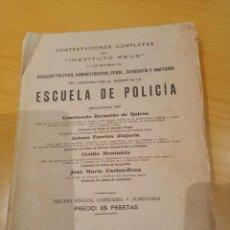 Libros antiguos: LIBRO PARA EL INGRESO EN LA POLICIA 1928. Lote 260426080