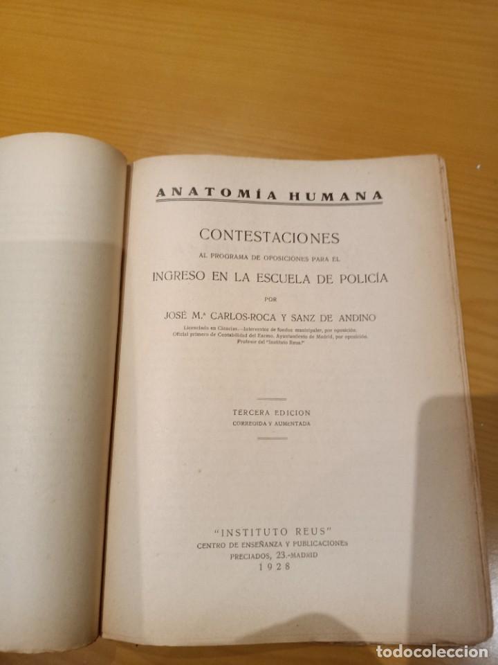 Libros antiguos: libro para el ingreso en la policia 1928 - Foto 5 - 260426080