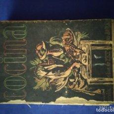 Libros antiguos: LIBRO DE COCINA ANTIGUO. Lote 260539315