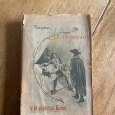 Libros antiguos: LIBRO EL INGENUO VOLTAIRE 1901. Lote 260653235