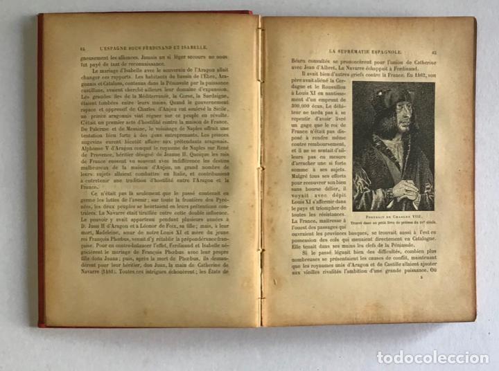 Libros antiguos: LESPAGNE SOUS FERDINAND ET ISABELLE. Le gouvernement, les institutions et les moeurs. - MARIEJOL, J - Foto 3 - 123213431
