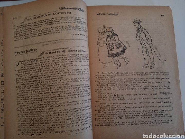 Libros antiguos: Patufet, 1919 - Foto 5 - 261128500