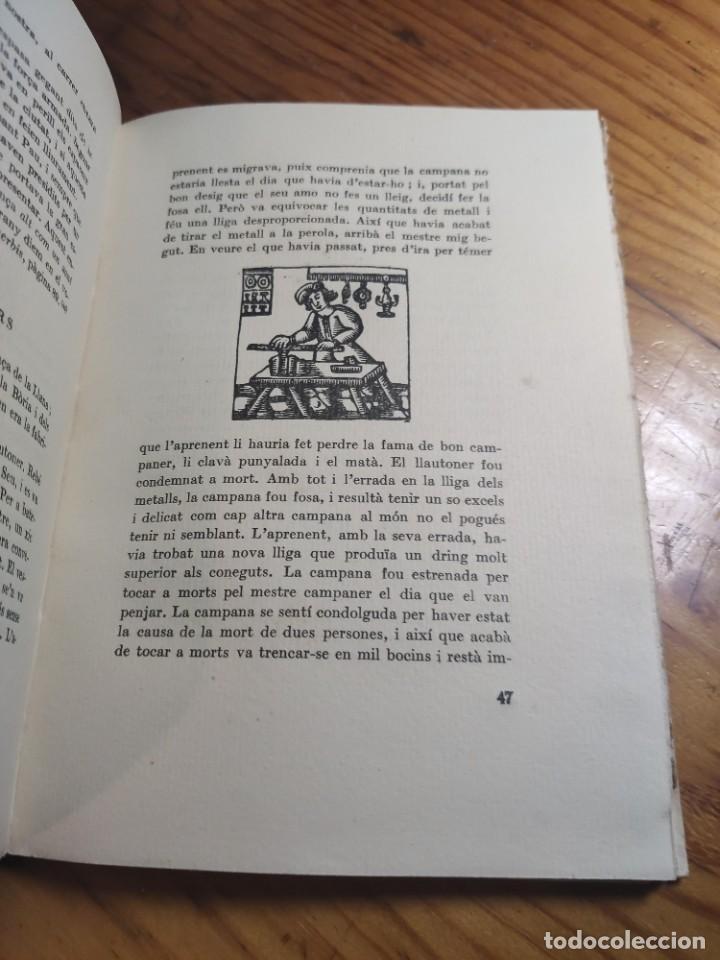 Libros antiguos: AMADES, Joan - ARTS I OFICIS. Biblioteca de tradicions populars. Volum XXV. Edició de 130 Exemplars. - Foto 5 - 261307360