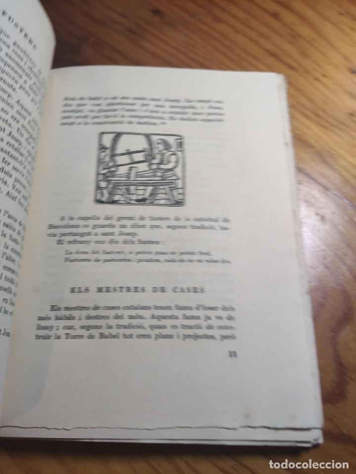 Libros antiguos: AMADES, Joan - ARTS I OFICIS. Biblioteca de tradicions populars. Volum XXV. Edició de 130 Exemplars. - Foto 6 - 261307360