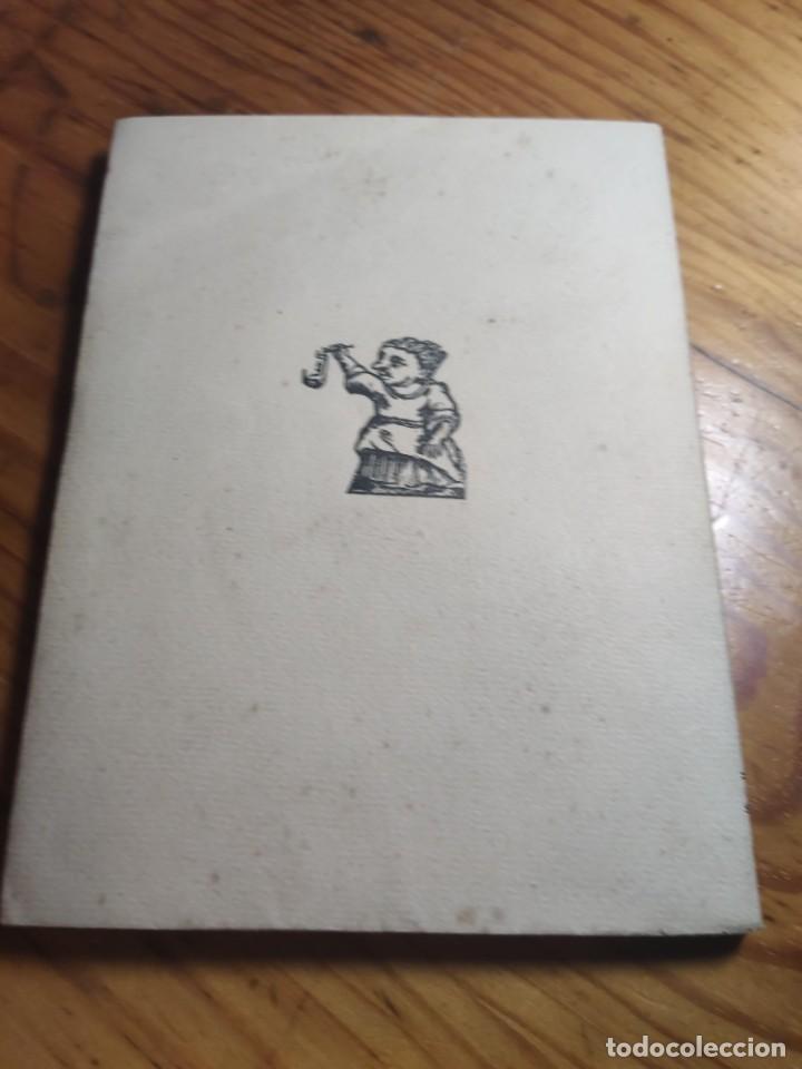 Libros antiguos: AMADES, Joan - ARTS I OFICIS. Biblioteca de tradicions populars. Volum XXV. Edició de 130 Exemplars. - Foto 7 - 261307360