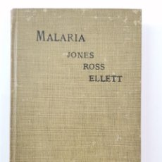Libros antiguos: L-5992. MALARIA A NEGLECTED FACTOR IN THE HISTORY OF GREECE AND ROME. BY W.H.S. JONES M.A. 1907.. Lote 261357020