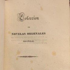 Libros antiguos: COLECCIÓN DE NOVELAS ORIGINALES ESPAÑOLAS. CRISTIANOS Y MORISCOS. EL SOLITARIO. ESTÉBANEZ CALDERÓN. Lote 261536060