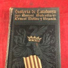 Libros antiguos: HISTORIA DE CATALUNYA PER ANTONI AULESTIA Y PIJOAN VOL. 2. Lote 261721930