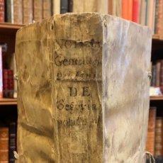 Libros antiguos: NOTICIAS GENEALÓGICAS DEL LINAGE DE SEGOVIA. JUAN ROMÁN Y CARDENAS. Lote 261788535