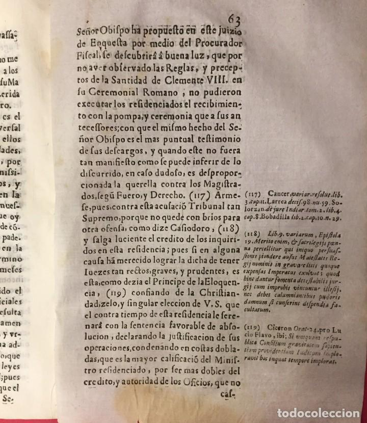 Libros antiguos: ARAGON 1675 D. JOSE DE CIRIA Y BETETA. JOSE FERNANDEZ DE HEREDIA DE CALATAYUD, PROCURATORIS FISCALIS - Foto 3 - 261824005